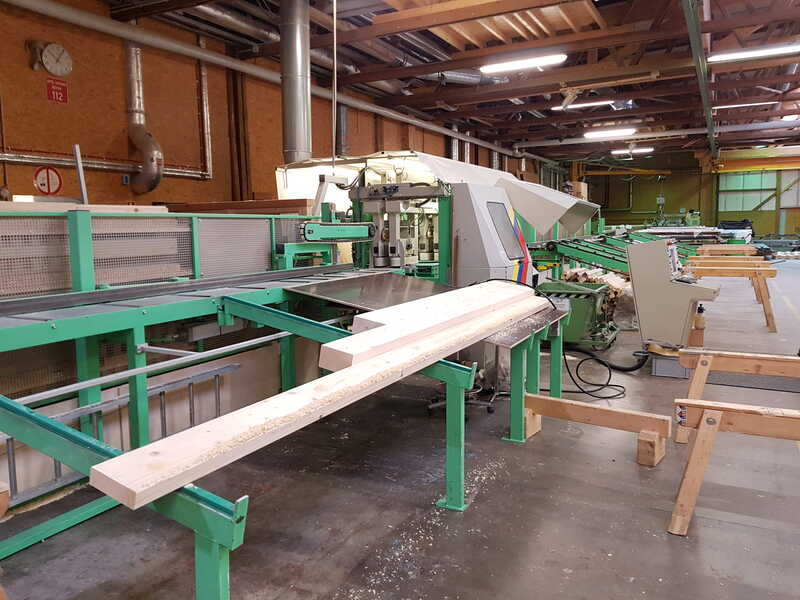 Schmidler Joinery Line - second-hand S4 main picture