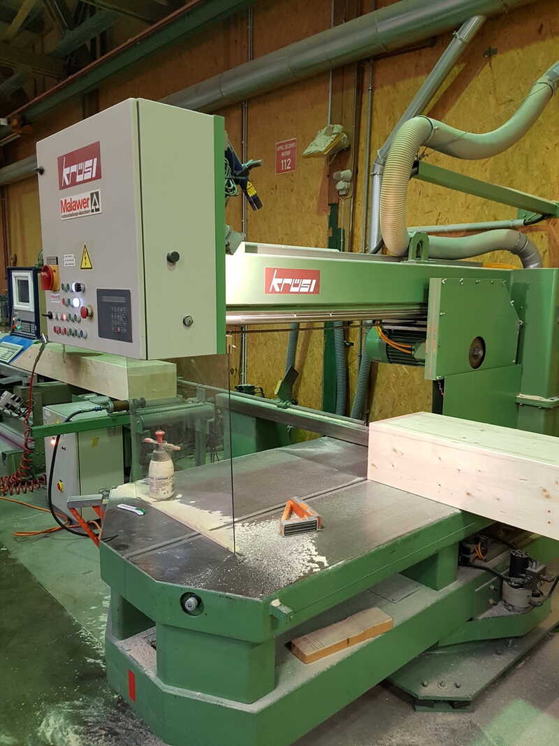 Kruesi Sawing, Drilling and Slitting line - second-hand LES / LAK (1)
