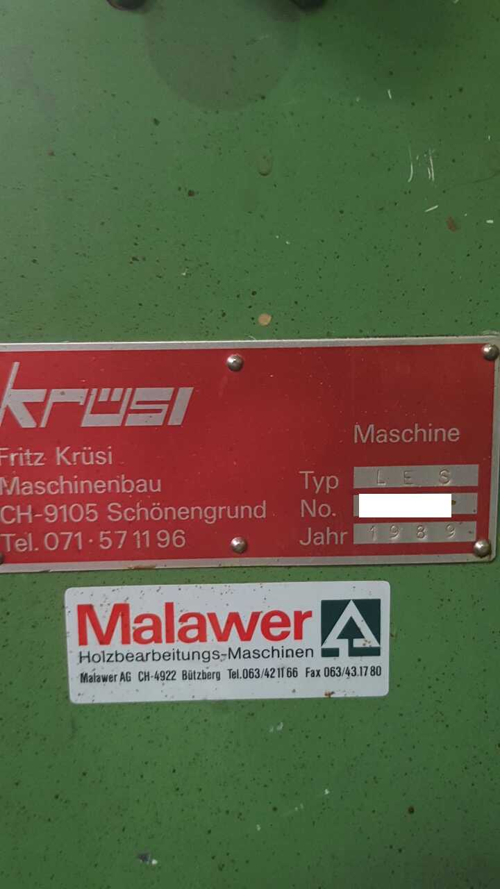 Kruesi Sawing, Drilling and Slitting line - second-hand LES / LAK (8)