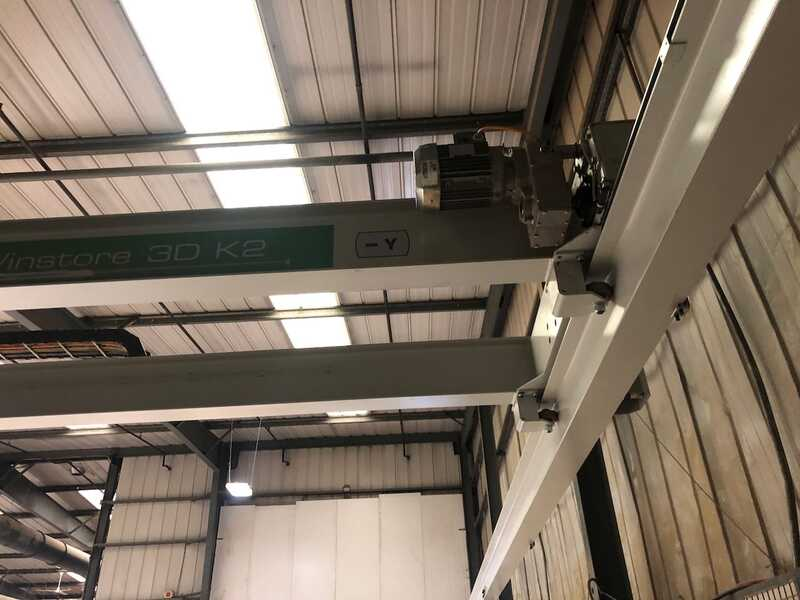 Biesse / Selco Panel Beam Saw / Panel Storage - second-hand WN 610 + Winstore (13)