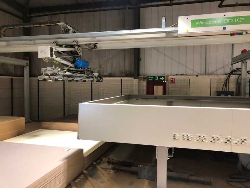 Biesse / Selco Panel Beam Saw / Panel Storage - second-hand WN 610 + Winstore (16)