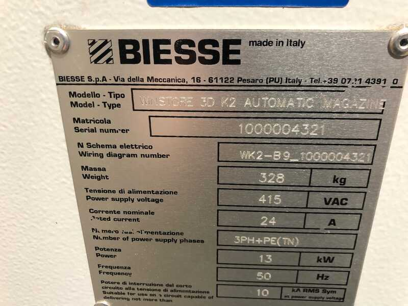 Biesse / Selco Panel Beam Saw / Panel Storage - second-hand WN 610 + Winstore (17)