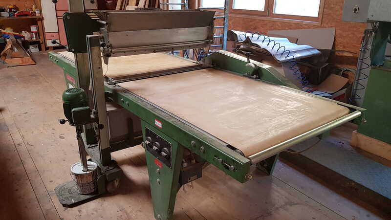 Leif & Lorentz Curtain Coater - second-hand B 2 main picture