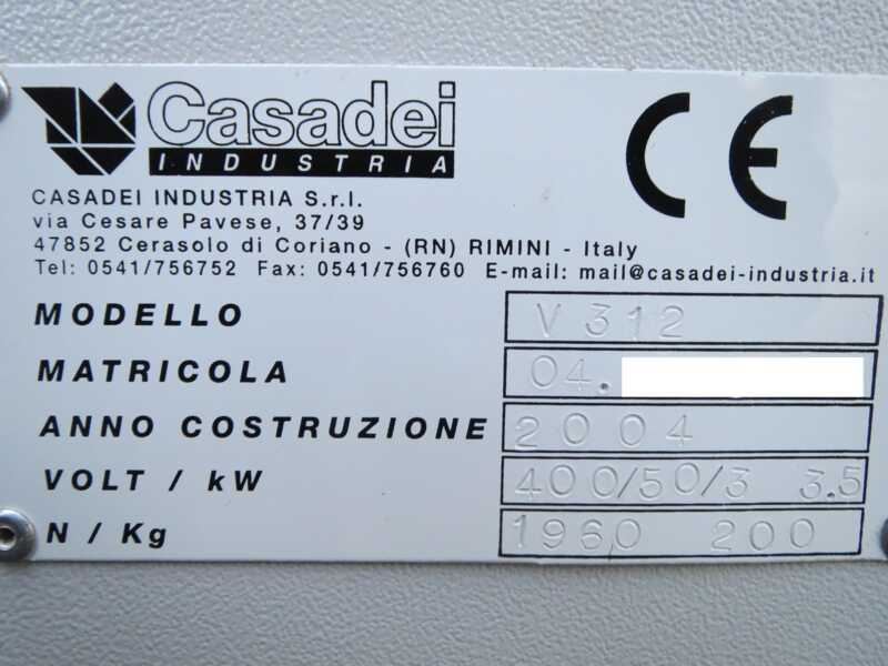 Casadei Edge Bander - second-hand V 312 (13)