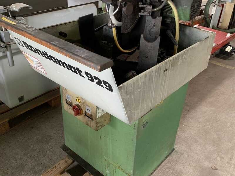 Weinig Grinding Machine for Profile Cutters / Knife Grinder - second-hand Rondamat 929 main picture
