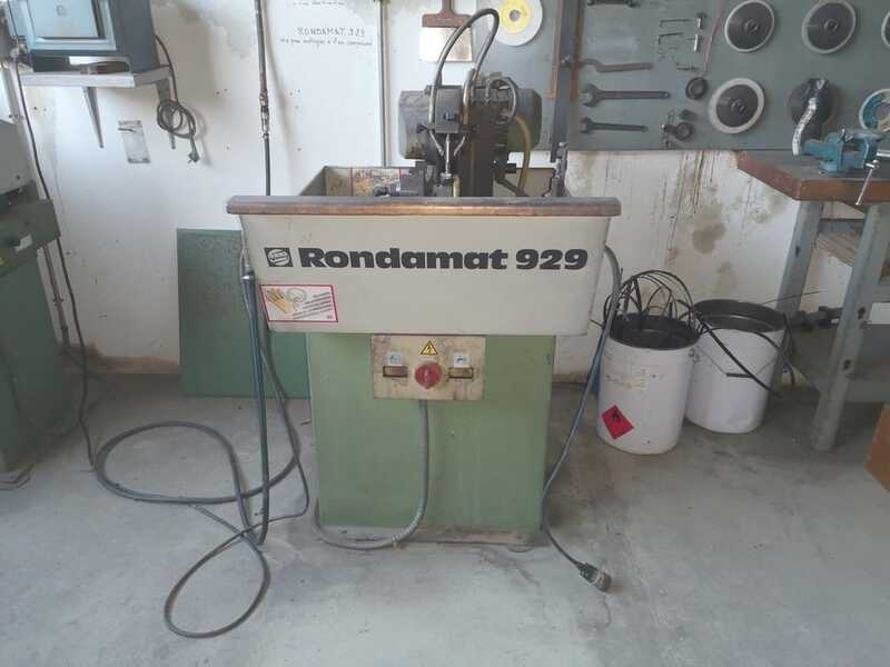 Weinig Grinding Machine for Profile Cutters / Knife Grinder - second-hand Rondamat 929 (1)