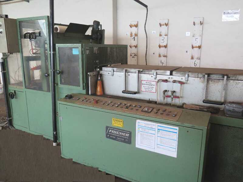 Fischer Packing Line / Shrinking Line for Profile Strips - second-hand SFV/80-N (1)