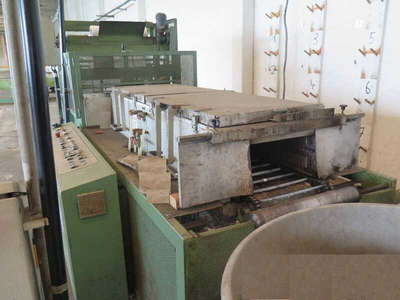 Fischer Packing Line / Shrinking Line for Profile Strips - second-hand SFV/80-N (2)