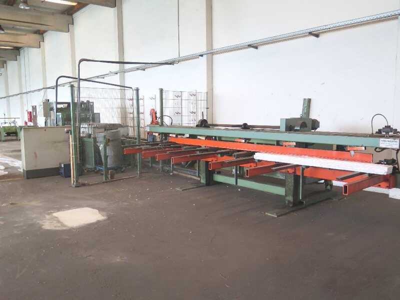 Fischer Packing Line / Shrinking Line for Profile Strips - second-hand SFV/80-N (4)