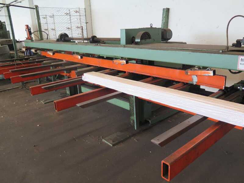 Fischer Packing Line / Shrinking Line for Profile Strips - second-hand SFV/80-N (5)