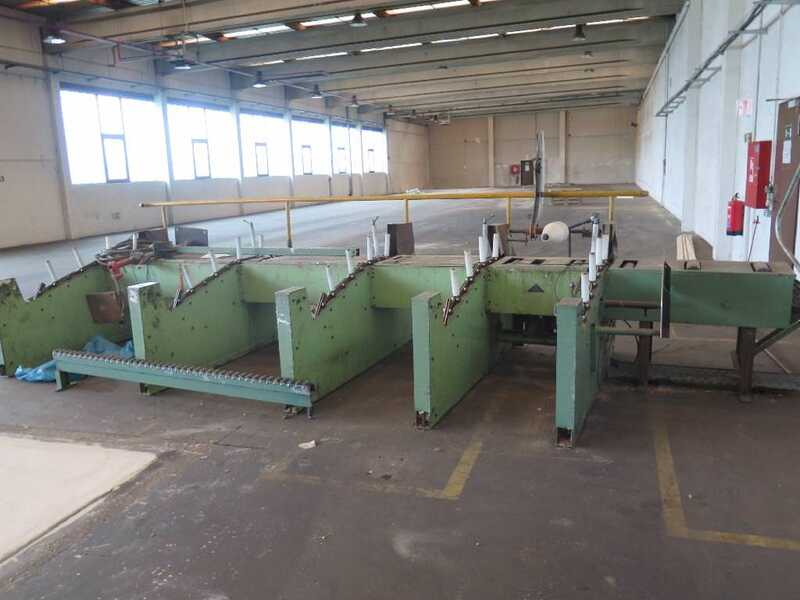 Fischer Packing Line / Shrinking Line for Profile Strips - second-hand SFV/80-N (8)