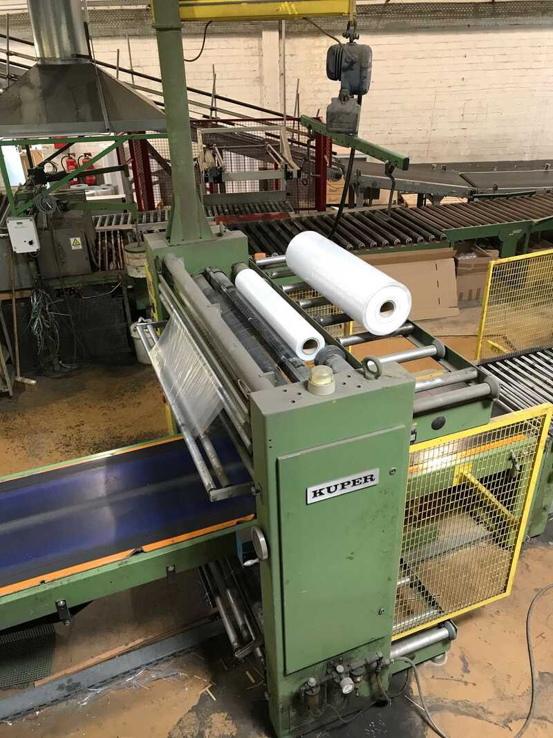 Kuper Shrink Foil Packing Line - second-hand ST main picture