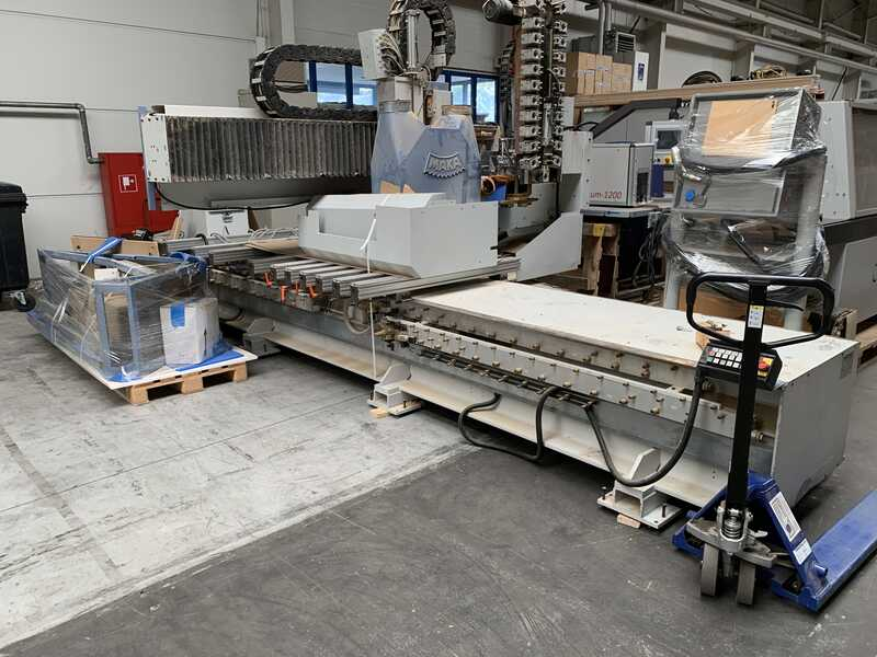 MAKA CNC-Machining Center for Doors - second-hand HC main picture
