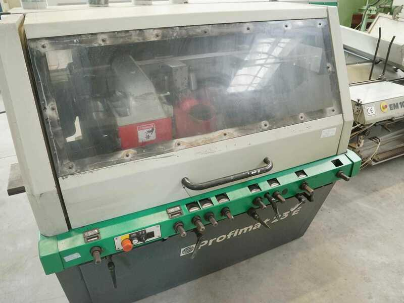 Weinig Four Side Planer - second-hand Profimat 23 E main picture