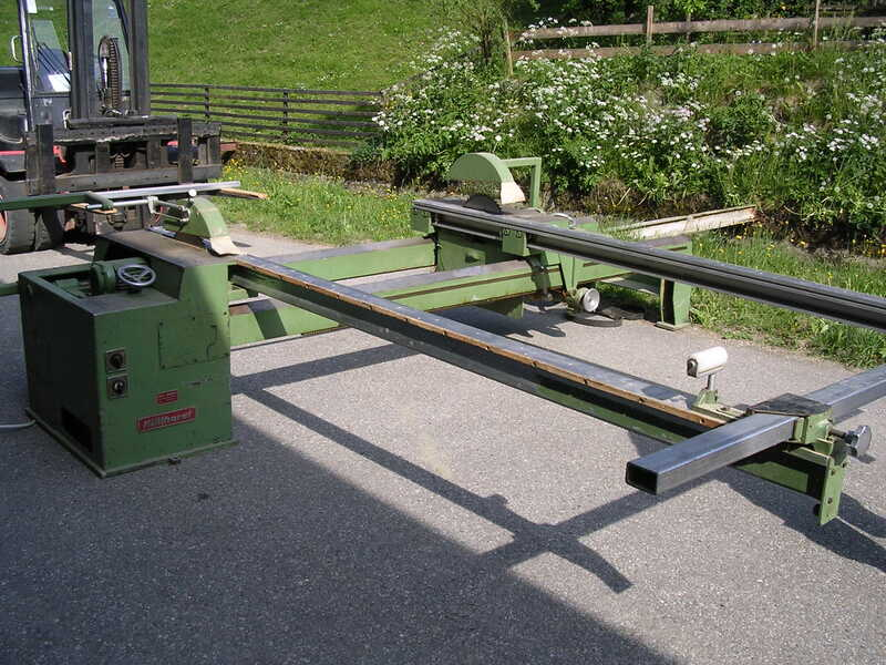 Hüllhorst Double Cross Cut Saw - second-hand main picture