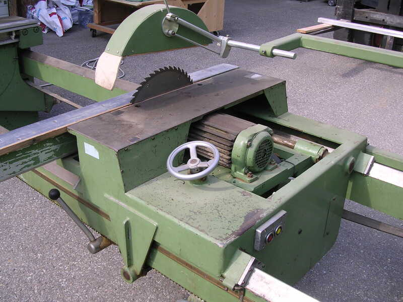 Hüllhorst Double Cross Cut Saw - second-hand (1)
